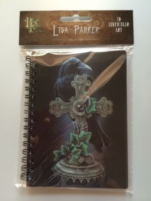LISA PARKER-THE FALLEN -3D LENTICULAR NOTEBOOK